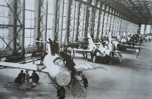 第一架喷气式歼击机出自于大名鼎鼎的中航沈飞