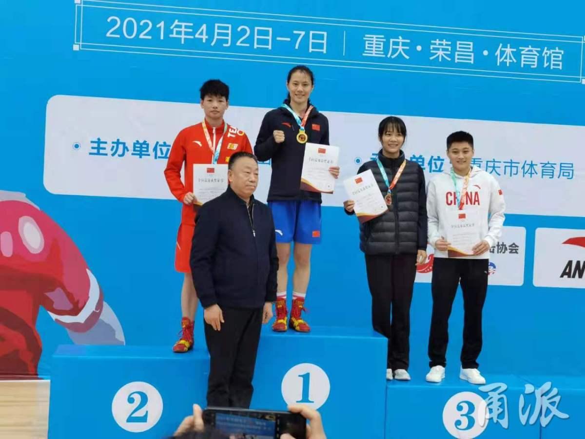 全国女子拳击锦标赛,宁波选手获