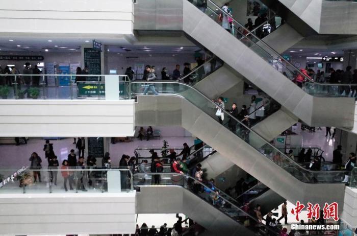 资料图:某医院门诊楼。 <a target='_blank' href='http://www.chinanews.com/'>中新社</a>记者 殷立勤 摄