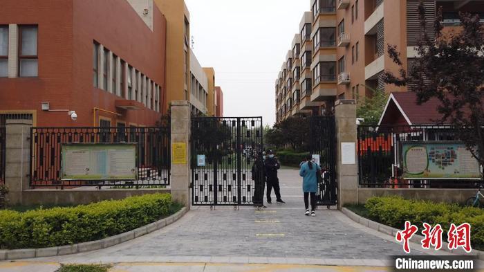 图为陕西科技大学旗下幼儿园。 党田野 摄