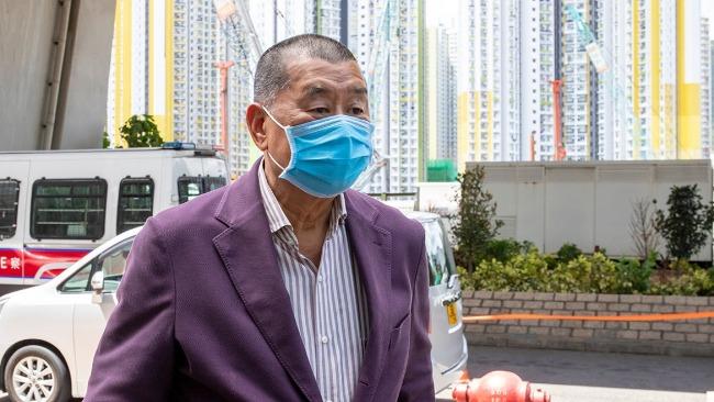有海外政客要求释放黎智英,香港律政司:感到惊讶