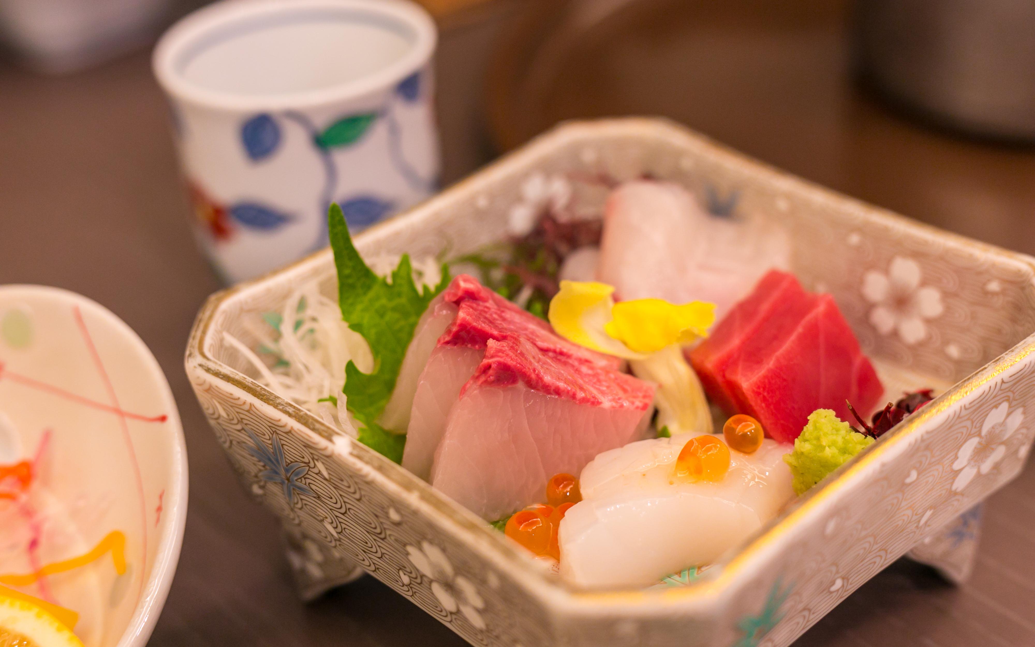 日本传统寿司拼盘资料图 图源包图网