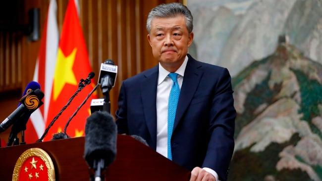 原驻英大使刘晓明履新