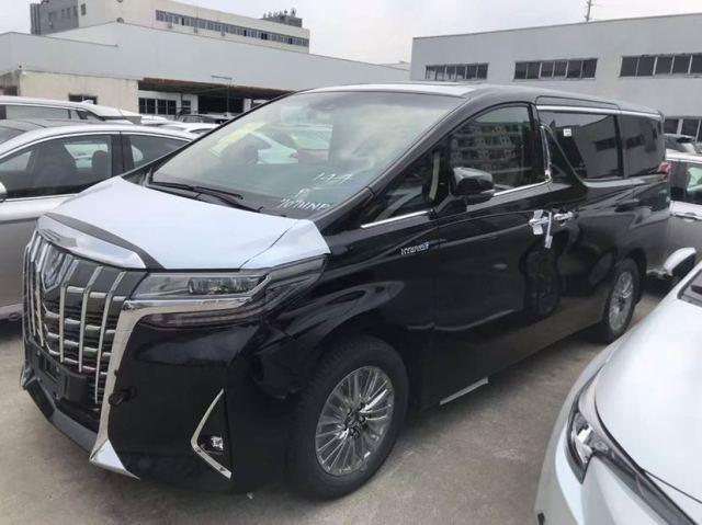 天津港现车丰田埃尔法商务国六预售