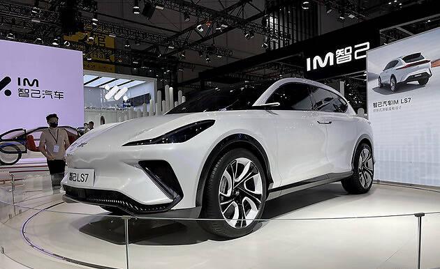 2021上海车展探馆:酷似DBX的智己LS7