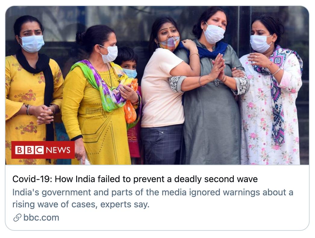 印度新冠肺炎海啸目击者:这不是瘟疫,而是谋杀|新冠肺炎是最严重的瘟疫吗