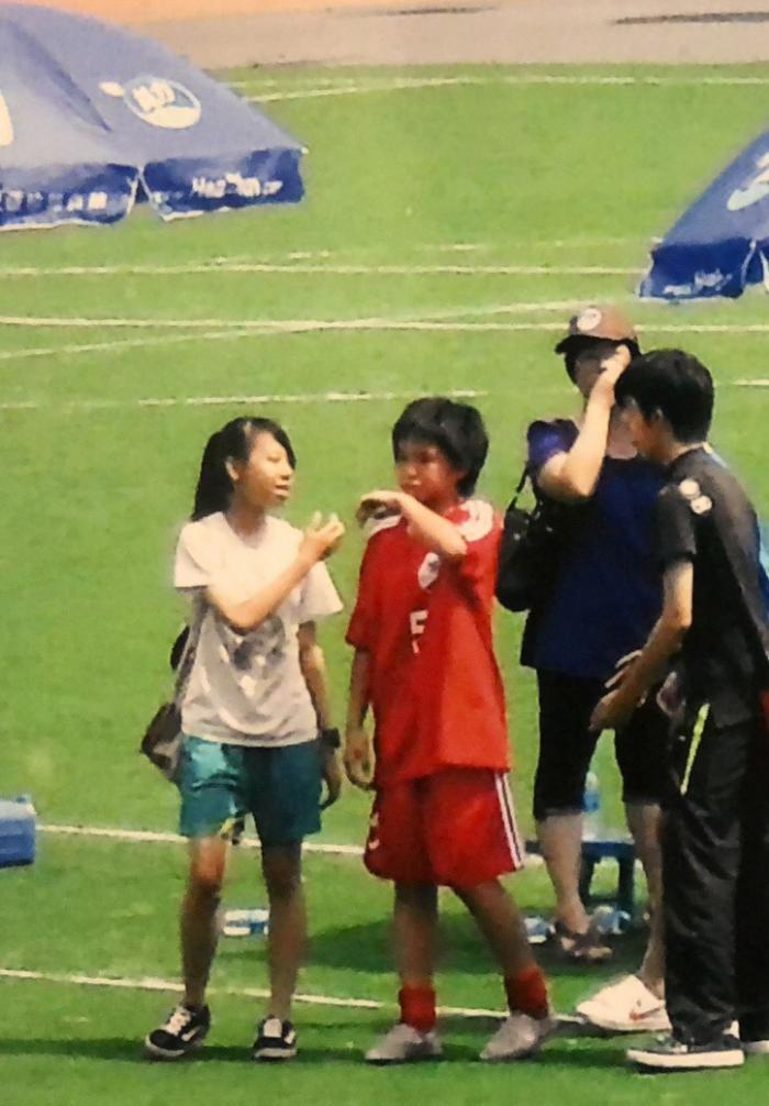 昔日海珠足球小将 今进军东京奥运会