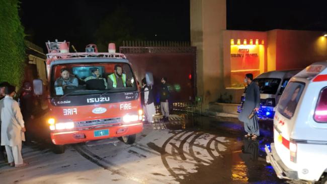 巴基斯坦酒店爆炸致4死12伤,中国大使当日入住此酒店