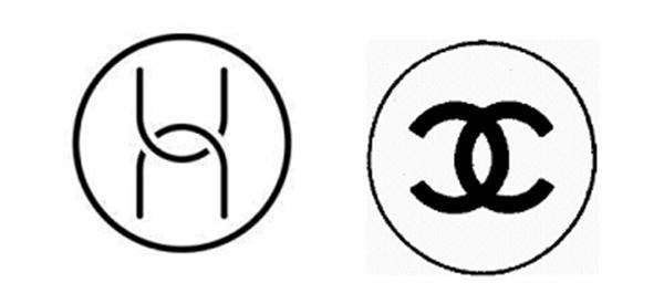 华为(左)与香奈儿的Logo