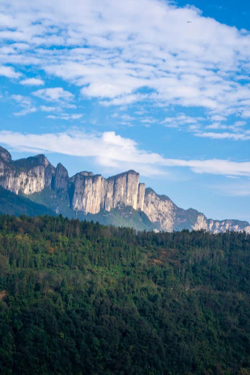 △恩施大峡谷生态旅游长廊。