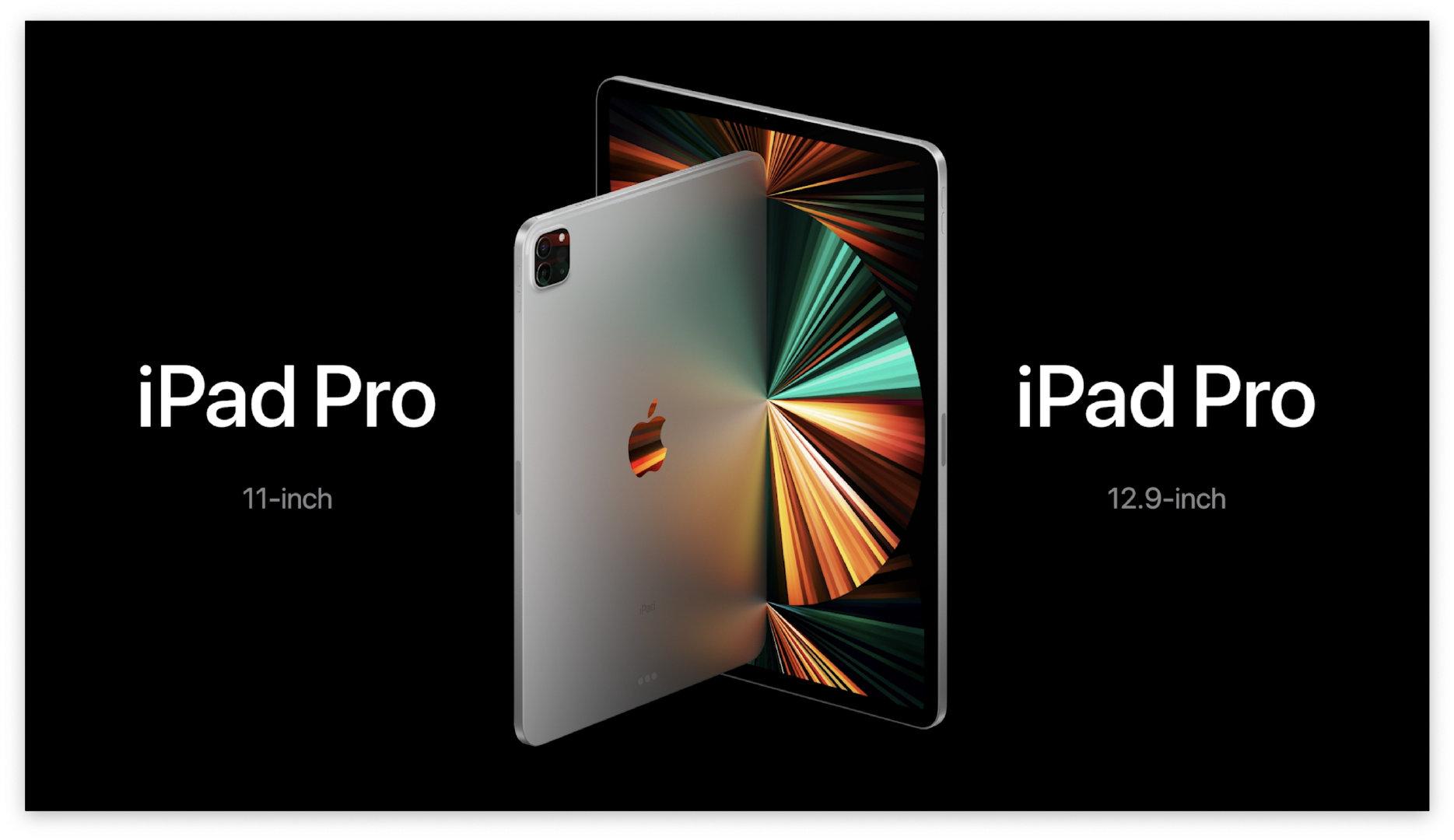 苹果发布全新iPad Pro搭载M1芯片售价799美元起