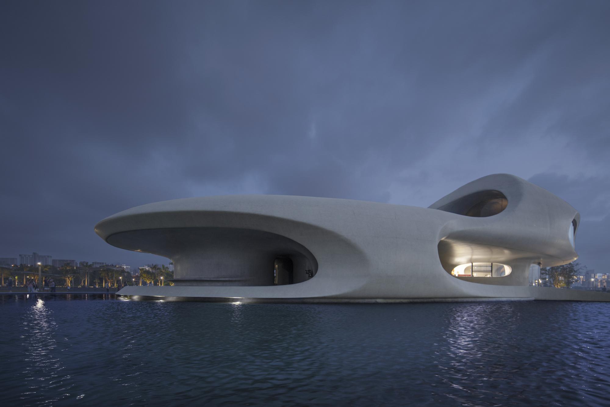 建筑雕塑感极强 存在建筑 图