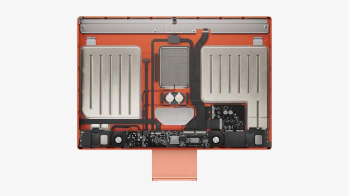 苹果iMac迎来大改 全新外观7种配色还有M1芯片 1299美元起