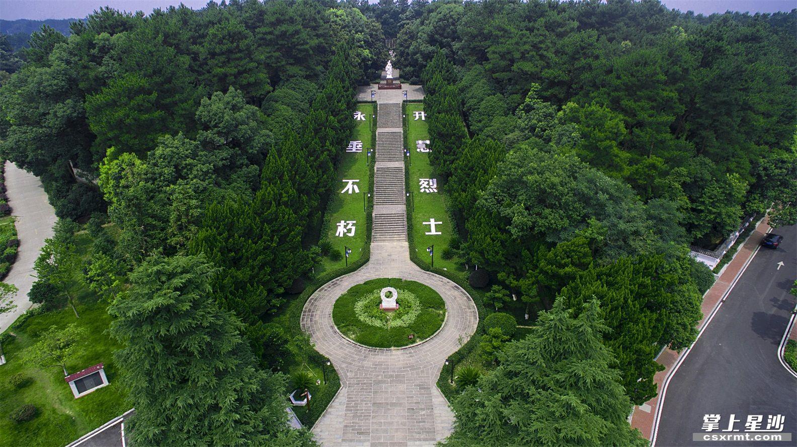 杨开慧烈士陵园。资料图片