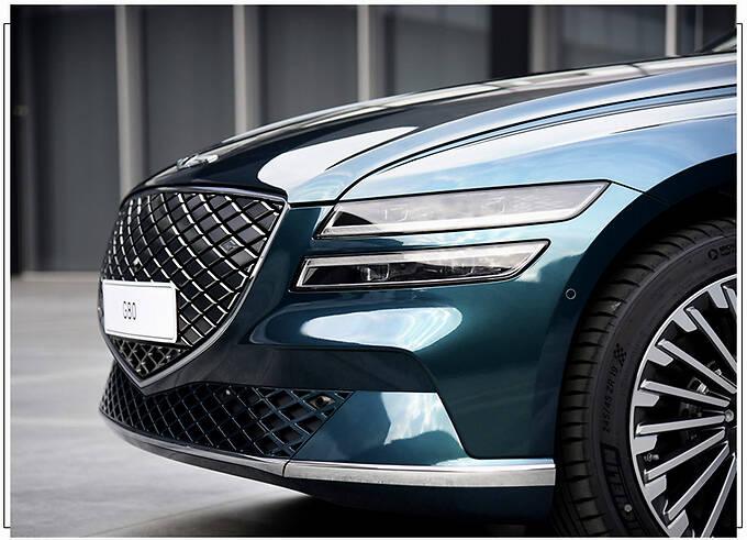 捷尼赛思G80新车型发布 封闭格栅/车顶配太阳能板-图4