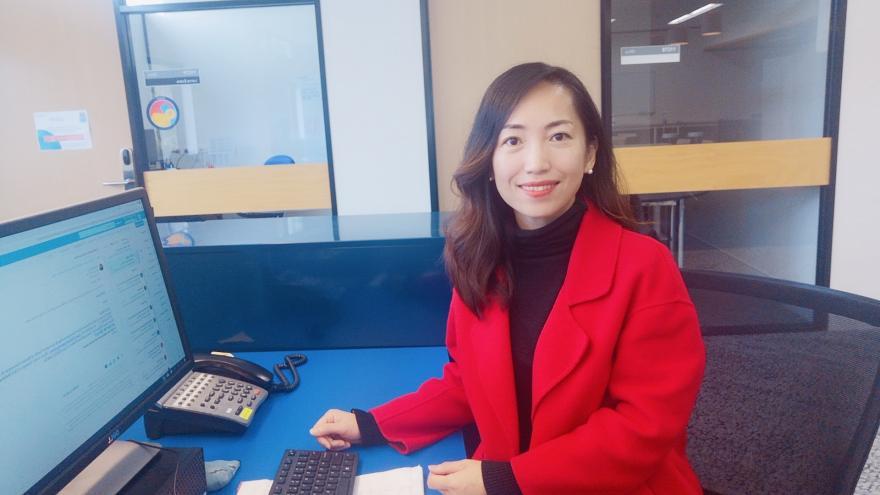 """河工榜样 汇聚向上向善正能量——杨凌云和她的""""翻转云课堂"""""""