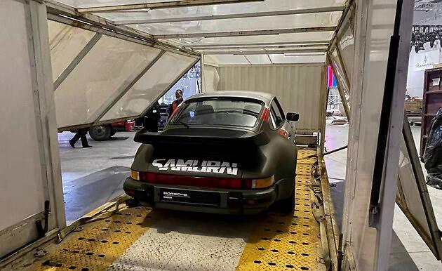 2021上海车展探馆 911 Turbo赛博朋克版