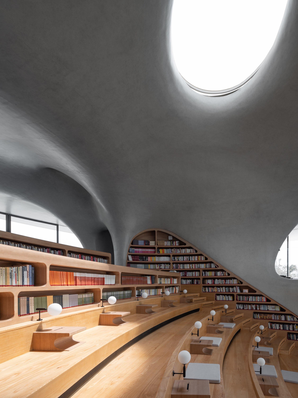 阶梯式阅读空间  CreatAR Images