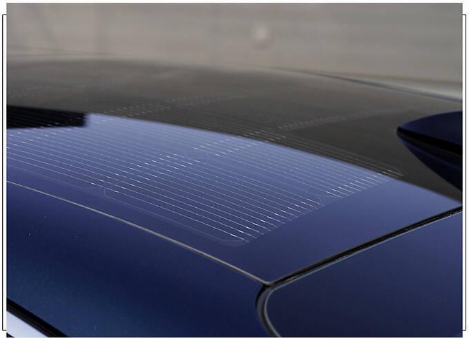 捷尼赛思G80新车型发布 封闭格栅/车顶配太阳能板-图6