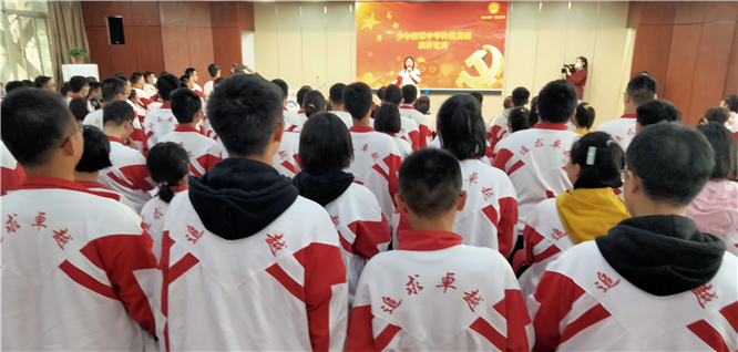 """商丘市一高举行""""少年传承中华传统美德""""演讲比赛"""