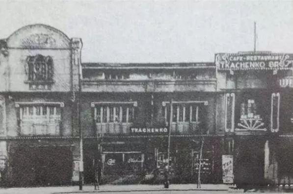 旧时霞飞路咖啡馆 资料图
