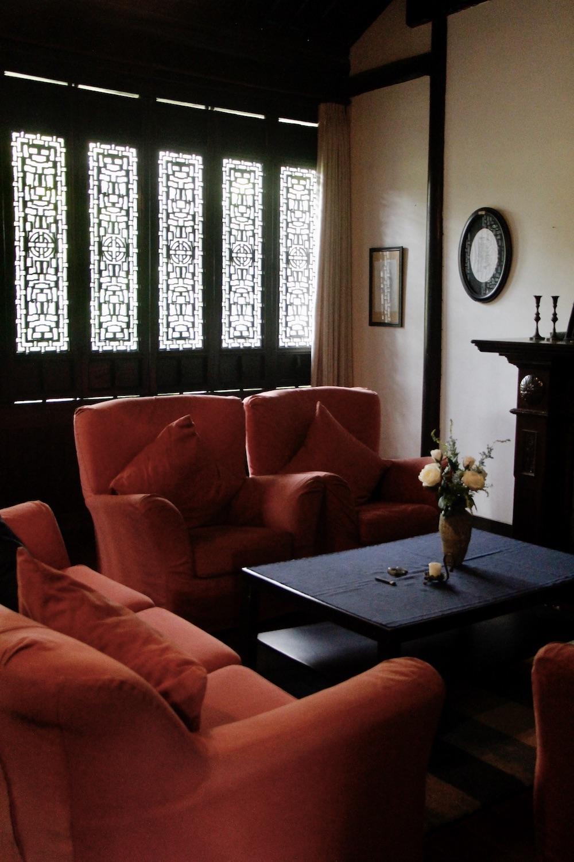"""""""晚晴小筑""""有很多客厅,但木心并不是一个乐于社交的人。"""