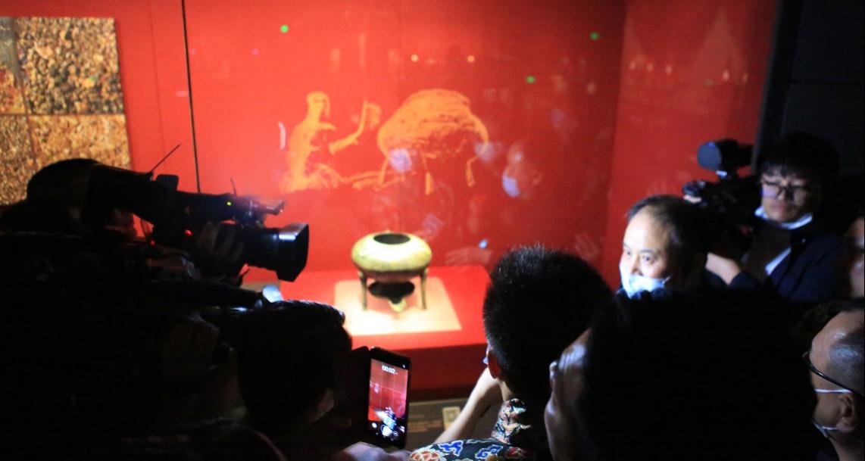 """火锅界""""顶级天团""""走进南昌汉代海昏侯国遗址公园 探寻汉代火锅文化之源"""