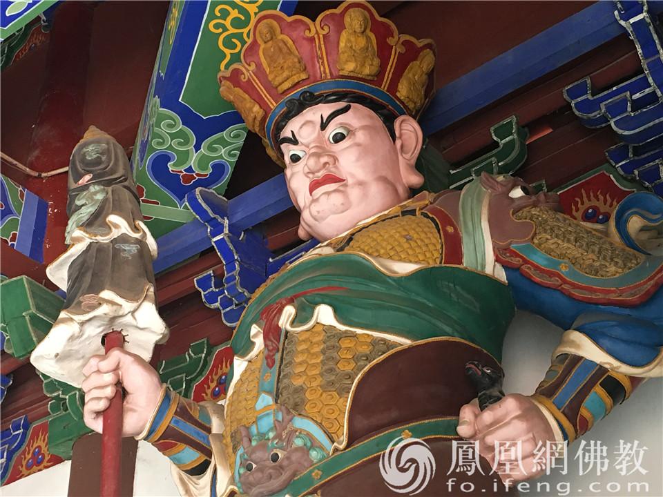 北方多闻天王(图片来源:凤凰网佛教 摄影:闫秀勇)