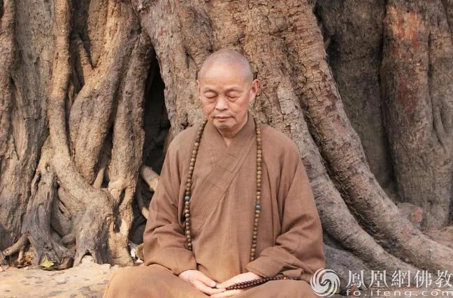 净慧长老(图片来源:凤凰网佛教)