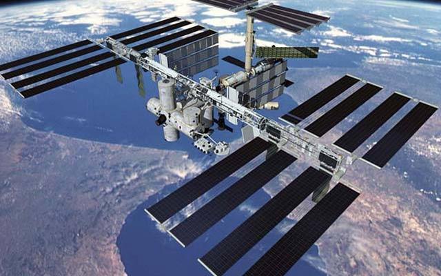 国际空间站。(来源:NASA)