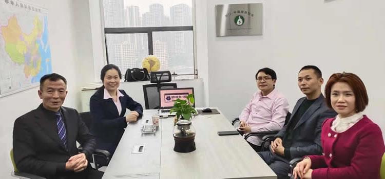"""图七:陶门·中国绿色智库部分成员在研究倡导""""5.1保护地球节"""""""