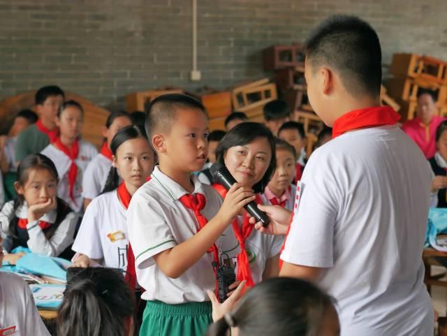 2018年E成长计划小讲师接受采访。