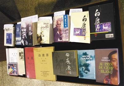 海内外不同版本的小说《白鹿原》封面