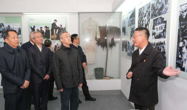 胡海峰率丽水市委常委前往台州开展党史学习教育 来源:丽水发布