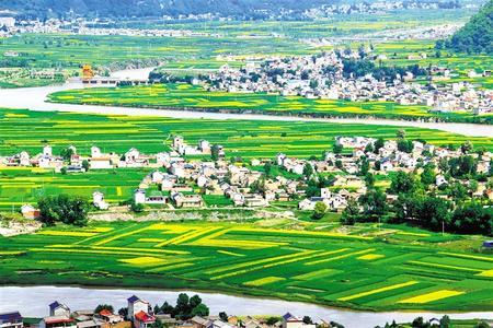 岷县洮河沿岸