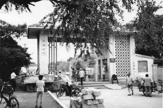 上世纪60年代劳动公园 沈阳市铁西区委宣传部供图