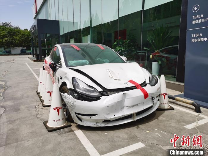 上海车展维权女车主家属:只有提供完整数据才是鉴定的基础