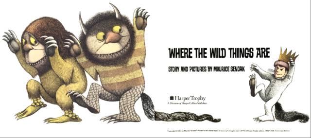 绘本 Where The Wild Things Are