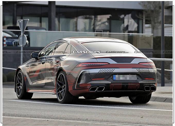 梅赛德斯-AMG GT 73曝光 搭新徽标/车尾新增充电口-图5