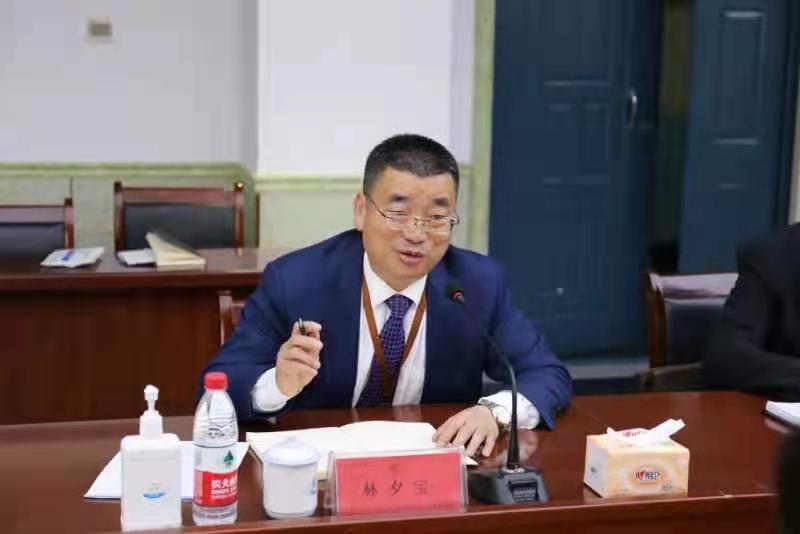 青岛求实职业技术学院董事长林夕宝
