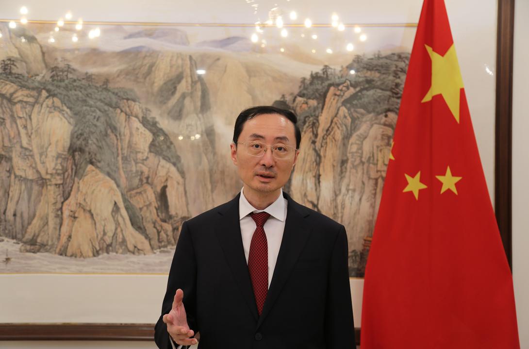 中国驻印度大使孙卫东