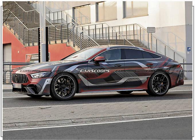 梅赛德斯-AMG GT 73曝光 搭新徽标/车尾新增充电口-图2