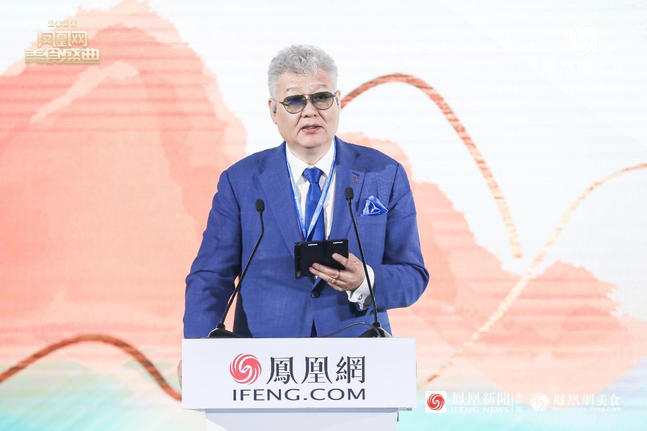 凤凰网美食盛典评选委员会终身主席大董先生致辞
