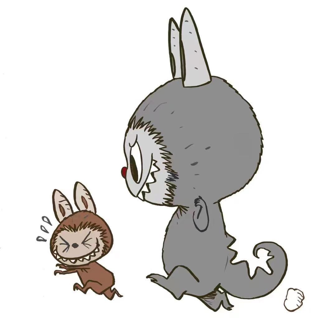 Labubu 和 Zimomo