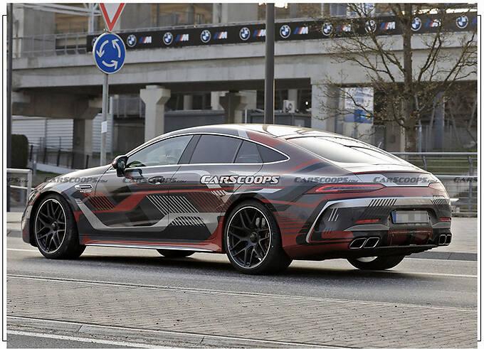 梅赛德斯-AMG GT 73曝光 搭新徽标/车尾新增充电口-图4