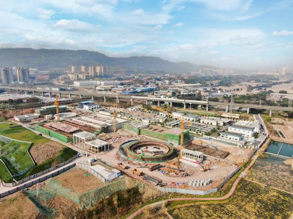 西部(重庆)科学城项目建设进展迅速。图片源于网络