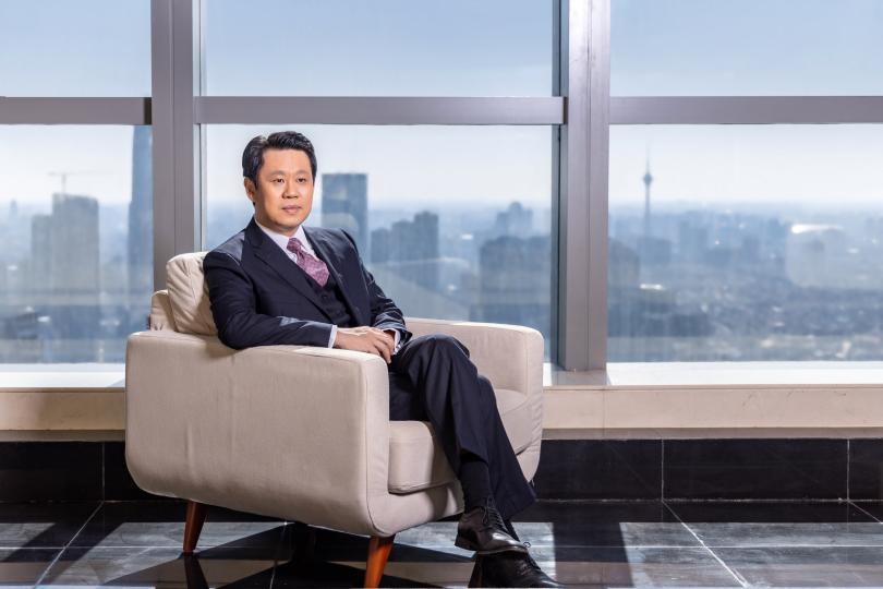 (图为:渤海银行行长屈宏志)