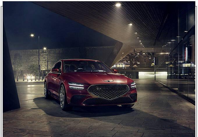捷尼赛思G70新车型预告分体尾灯/配大尺寸扰流板-图6