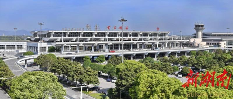 (2018年,改造后的T1航站楼投入使用,长沙黄花国际机场迎来双航站楼时代。湖南日报·华声在线记者 童迪 摄)