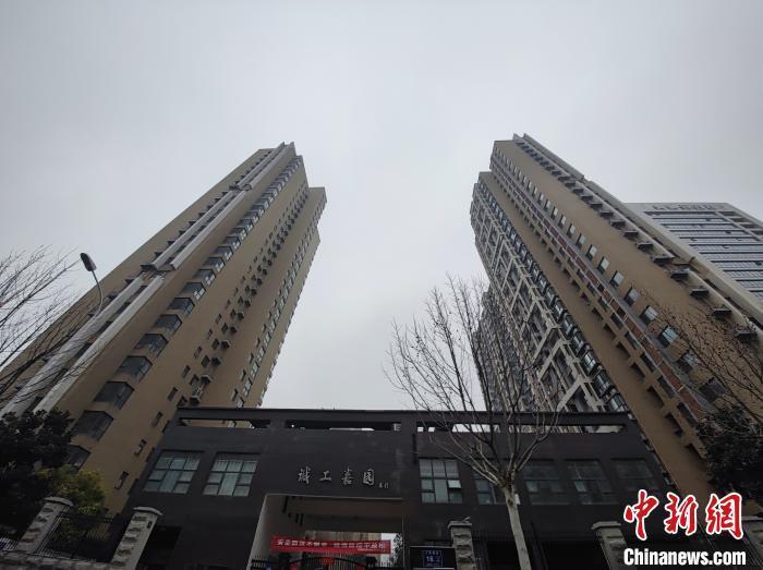 资料图:郑东新区一处新建小区。阚力 摄